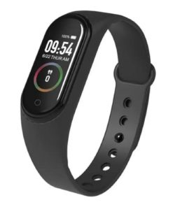 Pulsera Smart Band M4 Color Negro Multirebajas