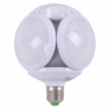 Foco Tipo balón 5 leds color blanco